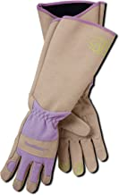 Magid Glove & Safety Professional Rose Pruning Thorn Resistant Gardening Gloves with Long Forearm Protection for Women (BE195TM) - Puncture Resistant, Medium (1 Pair)
