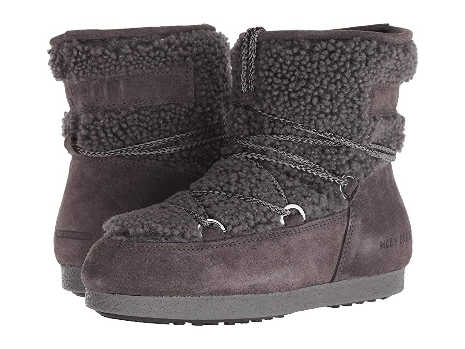 Tecnica Moon Boot Far Side Low Shearling (Anthracite) Women