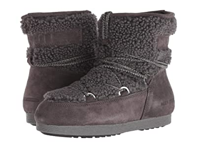 MOON BOOT Moon Boot Far Side Low Shearling (Anthracite) Women