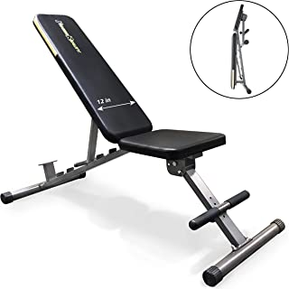 Fitness Reality 1000 Super Max Weight Bench with Upgraded Wider Backrest/Seat (2019..
