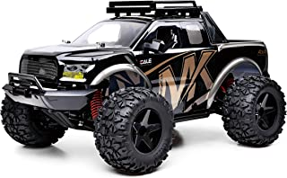 SUBOTECH 1:10 Large RC Cars, 2 Li-Po Batteries for 30+ Min Play, RC Trucks for Boys and Adults, High Speed 45+km/h 4WD 2.4Ghz, 50M Control Range, Hobby RC Truck 4x4 Off-Road