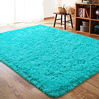 ISEAU Fluffy Rug Carpets Soft Shaggy Area Rug Indoor...