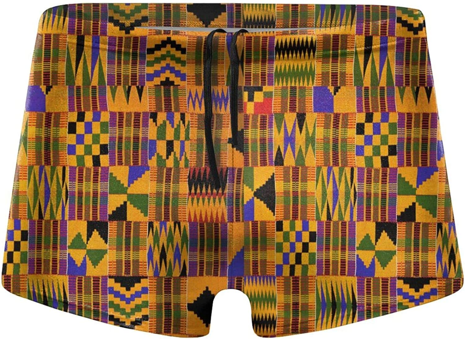 CHIFHOME outlet Men's Boxer Brief African-Print Trunks Swim Max 59% OFF Sw Fast Dry