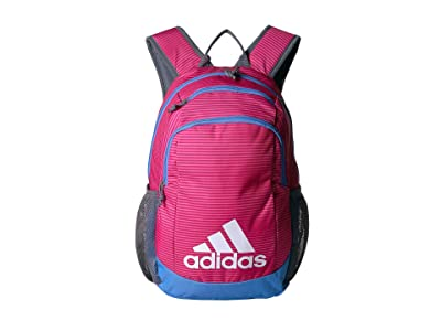 adidas Kids Young BTS Creator Backpack (Little Kids/Big Kids) (Semi Solar Pink Sundown/Real Blue/Onix) Backpack Bags