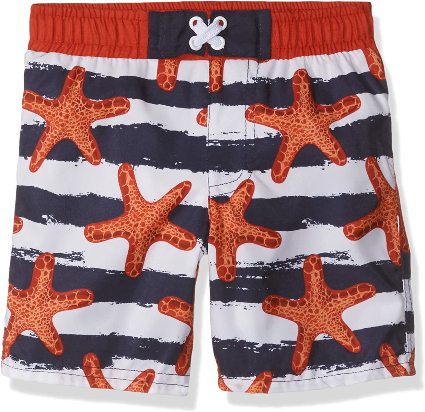 Sol Swim Boys' Solo Swim-Infant-Starfish America Separate Swimtrunk