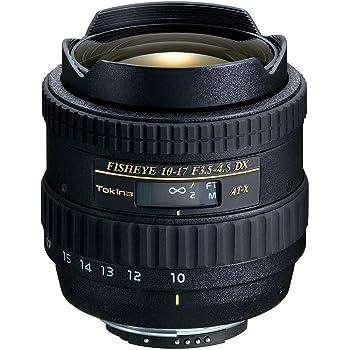Tokina 魚眼ズームレンズ AT-X 107 DX Fisheye 10-17mm F3.5-4.5 (IF) キヤノン用 APS-C対応