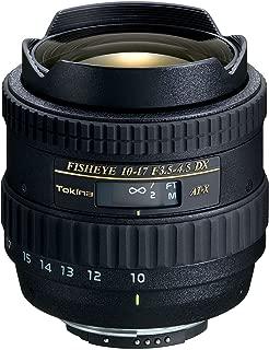Tokina AF DX 10-17mm f/3.5-4.5 Fisheye Zoom - Canon Mount