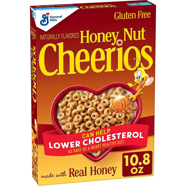 Honey Nut Cheerios 10.8oz  Breakfast Cereal  $1.79 Coupon