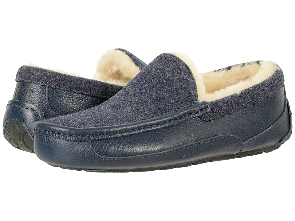 UGG Ascot Novelty (New Navy) Men
