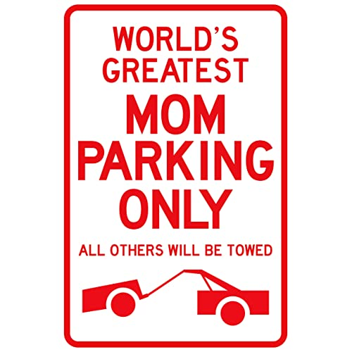 New Plastic Parking Sign Beware Of The Children Home Garage Decor Funny Comical