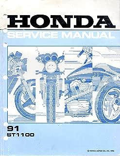 Honda Service Manual 91 ST1100