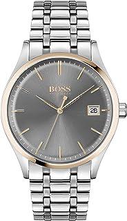 Hugo BOSS Men's Analog Quartz Watch with Stainless Steel Strap 1513834