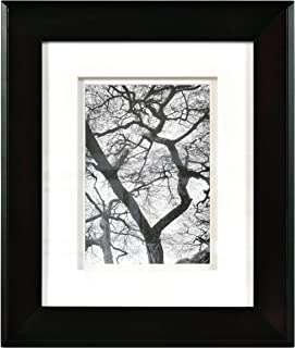 Nielsen Bainbridge Artcare 8x10 Chelsea Black Museum Quality Archival Frame with Double White Mat for 5x7 Image #RW07CHLMB. Includes: UV Glazed Glass and Anti Aging Liner
