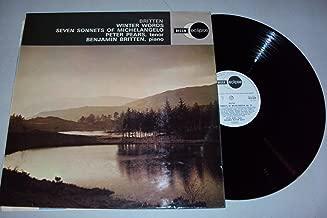 Britten: Winter Words - Seven Sonnets of Michelangelo - Peter Peers, Tenor Benjamin Britten, Piano