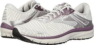 Brooks Women's Adrenaline GTS 18 White/Purple/Grey 7 B US B (M)