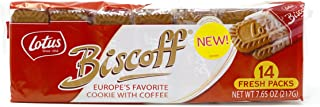 14 Fresh Pack of Biscoff Cookie Two Pack, 7.65oz