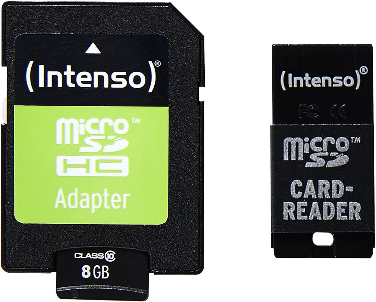 Intenso Class 10 Micro Sdhc 16gb Speicherkarte Inkl Sd Computer Zubehör