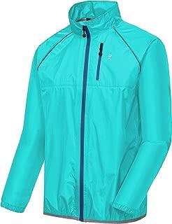 Little Donkey Andy Men's Waterproof Cycling Bike Jacket, Running Golf Rain Jacket, Windbreaker, Ultralight and Packable