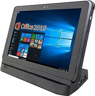 富士通 タブレット ARROWS Tab Q507/PB/MS Office 2019付き/Win 10/10.1インチ1900X1200IPSディスプレイ/WI-FI/RAM4GB/128GB(SSD:64GB+SDXC:64GB) (整備済み品)