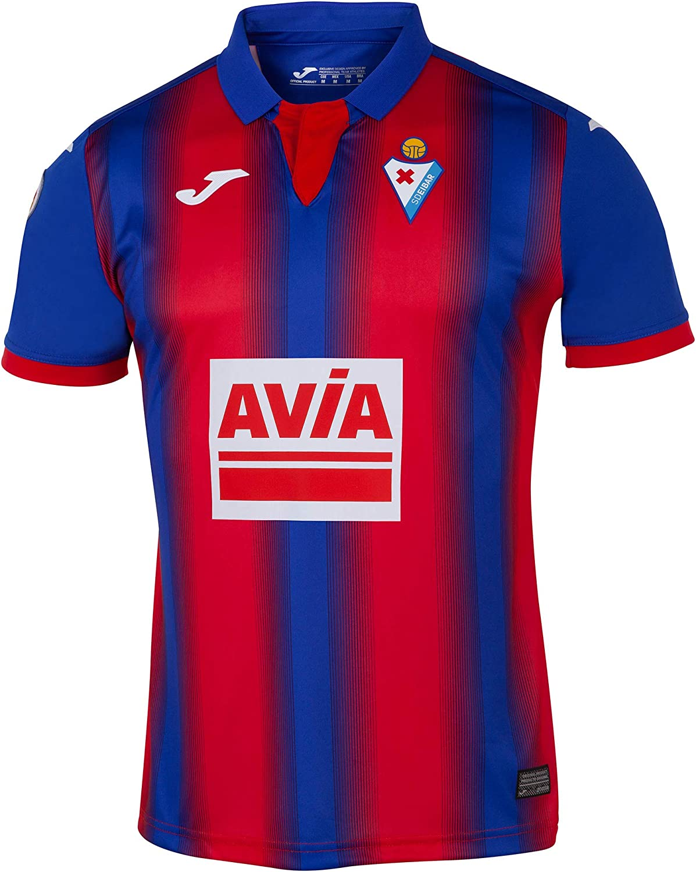 Joma 2019-2020 Eibar Home Football Soccer T-Shirt Maillot
