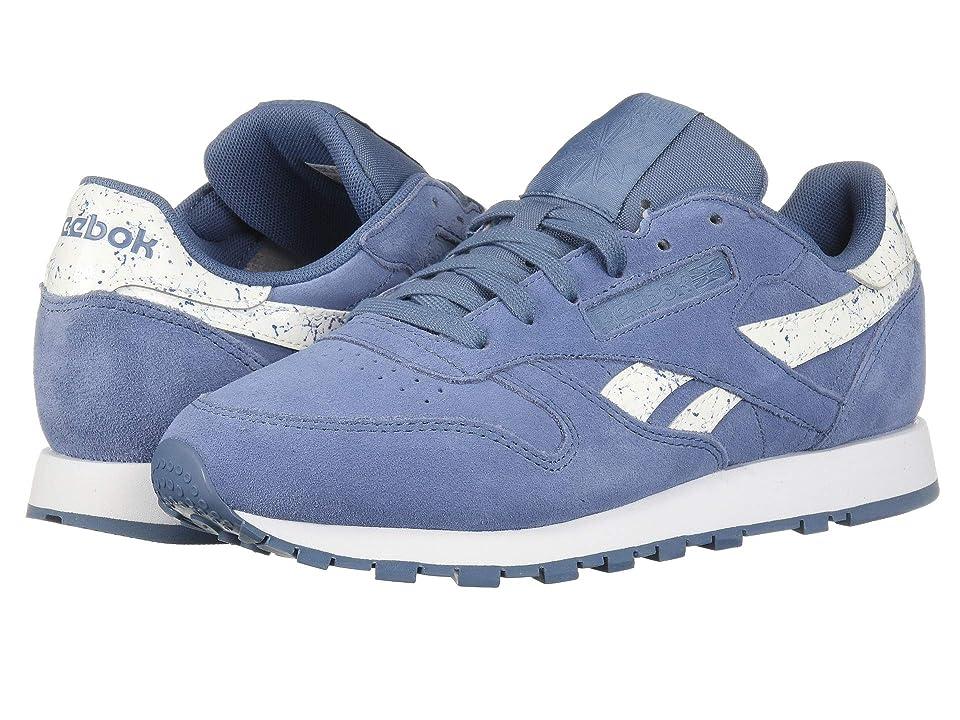 Reebok Classic Leather (Blue Slate/White) Women