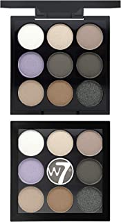 W7 Eyeshadow Palettes - Pack of 1, Multi Color