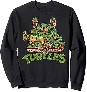 Nickelodeon Toddler Boys Teenage Mutant Ninja Turtles Raglan Sweatshirt Blue