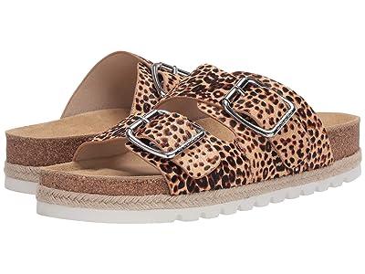 J/Slides Leighton (Natural/Black Leopard) Women