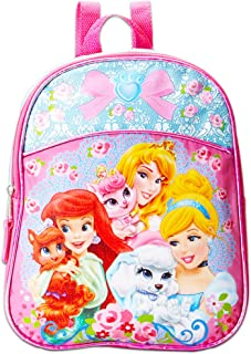 Disney Princess Toddler Preschool Backpack 10 inch Mini Backpack (Disney Princess Palace Pets)
