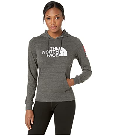 The North Face Americana Tri-Blend Pullover Hoodie (TNF Dark Grey Heather) Women