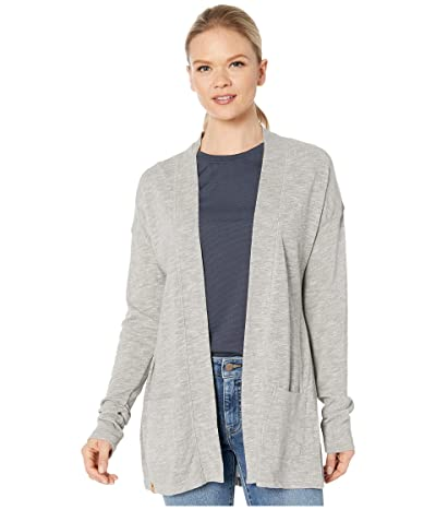 tentree Alouette Long Sleeve Cardigan (High-Rise Grey Marled) Women