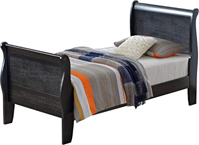 Amazon Com Signature Design By Ashley Jerary King Upholstered Bed Casual Style Gray Furniture Decor