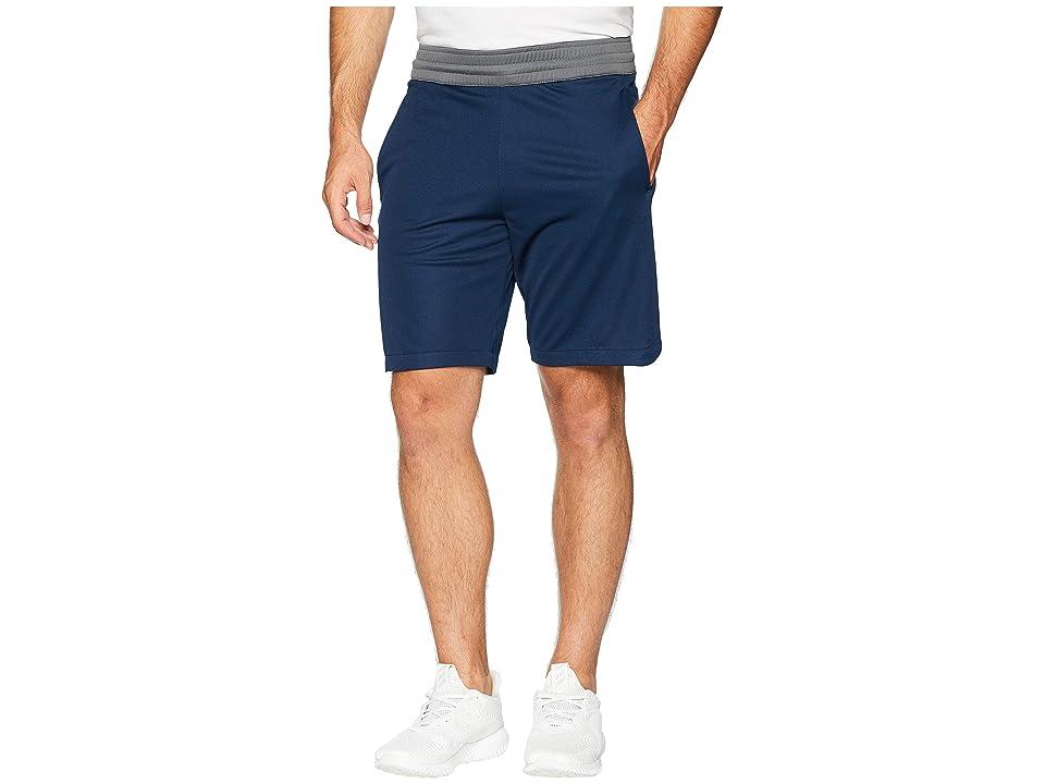 adidas Accelerate 3-Stripes Shorts (Collegiate Navy) Men's Shorts
