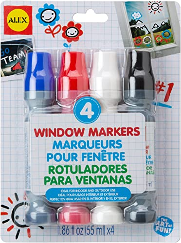 ALEX Toys Artist Studio 4 Window Markers