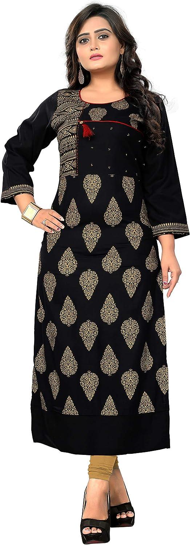 Delisa Women Dress Printed Kurti for Women Formal & Party Wear 1838