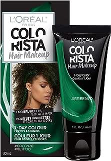 L'oreal Paris Hair Color Colorista Makeup 1-day for Brunettes, Green70, 1 Fl Oz