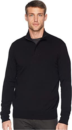Cotton Modal 1/4 Zip Sweater