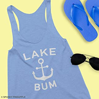 Lake Bum Tank Top Cute Summer Tops Lake House Gifts For Women