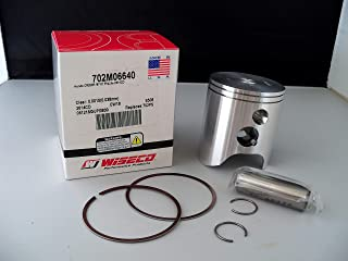 Wiseco 702M06640 Pro-Lite Forged Piston Kit For Honda CR250 CR250R 1997 1998 1999 2000 2001 Standard Bore 66.40mm