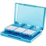 AmazonBasics Nintendo 3DS Game Card Storage Case Holder with 24 Cartridge Slots - 3 x 5 x 1...