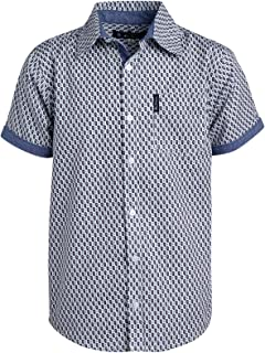 Ben Sherman Boys Short Sleeve Button Down Shirt