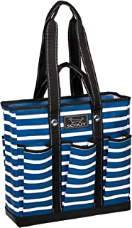 Pocket Rocket Tote, Large Tote Bag with 6 Exterior Pockets & Interior Zippered..