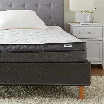Amazon Basics Premium Foam Eurotop Mattress - CertiPUR-US Certified - 9-inch, Full
