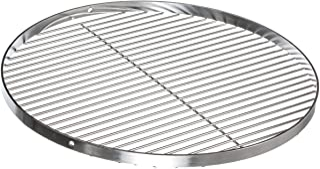 Brandsseller Parrilla Redonda oscilante de Acero Inoxidable | Barbacoa|18/0 AISI 430| Libre de Nickel | Diámetro de Ø 60 cm |