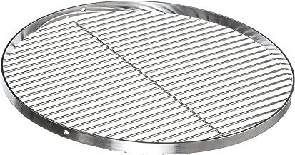 Brandsseller Parrilla Redonda oscilante de Acero Inoxidable | Barbacoa|18/0 AISI 430| Libre de Nickel | Diámetro de Ø 70 cm |