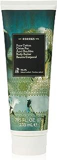 KORRES Pure Cotton Body Butter, 7.95 Fl. Oz