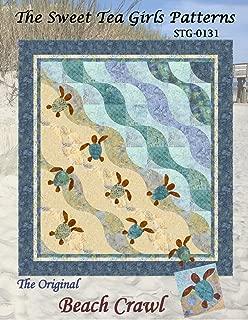 Original Beach Crawl Quilt Pattern by The Sweet Tea Girls - 2 sizes - STG-0131 Turtle