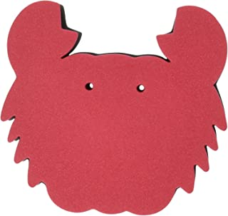 OttoMusica SR-11-RC Magic Pad for Violin and Viola, Red Crab Shape