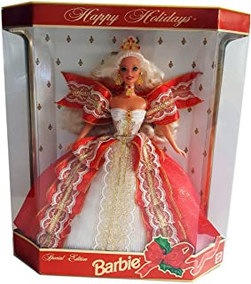 Barbie 1997 Happy Holidays Doll Special Edition - Blonde
