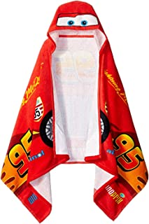"Disney/Pixar Cars 'Tune Up' Hooded Cape Towel, 22"" x 51"""
